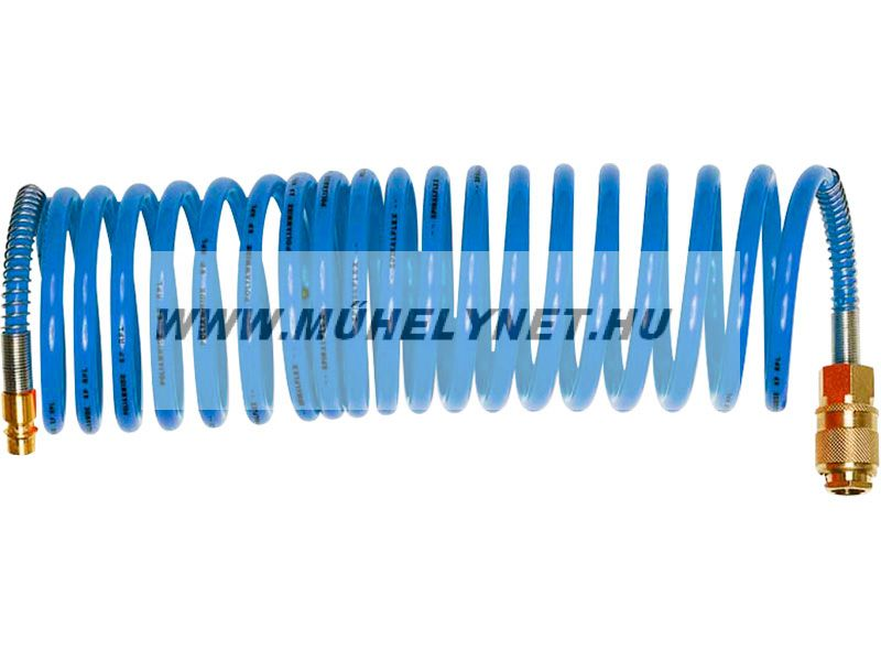 Levegőcső spirálcső 15 bar 8m 8/10mm szerelt