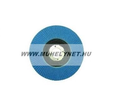 Lamellás csiszolókorong kék p80 115mm INOX