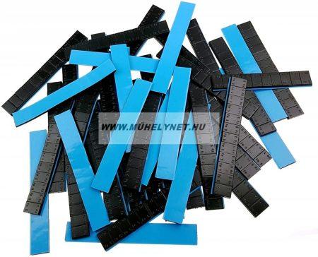 Centírozósúly ragasztható 5-5 gr kiosztással fekete