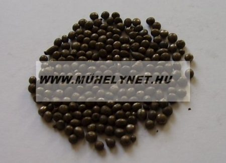 Szemcsefuvatáshoz ( szóráshoz ) osztályozott acélsörét több méret 25 kg/zsák