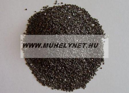 Szemcsefuvatáshoz ( szóráshoz ) osztályozott éles acélszemcse több méret 25 kg/zsák