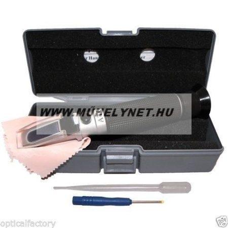 Fagyálló és akkusav mérő optikai műszer