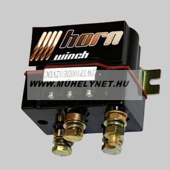 Csörlő vezérlő relé 12 V, 600 A maximális áramerősséggel Horn