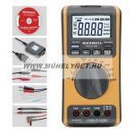 MAXWELL digitális multiméter hőmérővel + USB kábellel, PC programmal