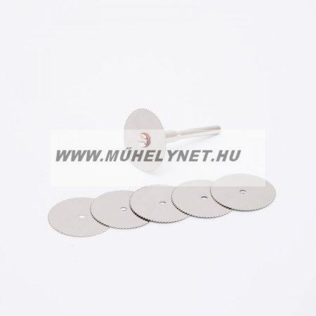 HANDY mini gravírozó,vágókorong készlet, fém, 5 db-os
