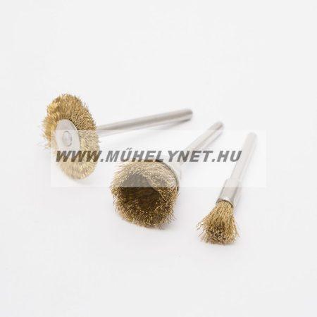 HANDY mini gravírozó, réz drótkorong készlet 3 db-os
