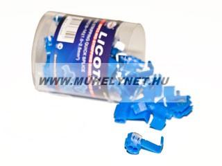 Vezeték összekötő csatlakozó kék
