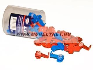 Vezeték összekötő csatlakozó piros-kék