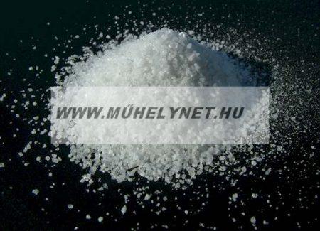 Korund ( nemes korund ) szóróanyag 25 kg-os kiszerelésben fehér