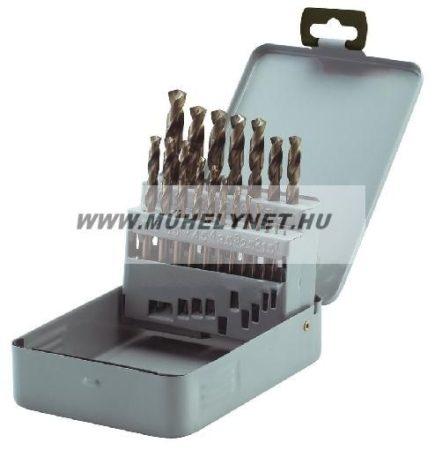 Csiga fúrószár készlet kobaltos ( cobaltos ) 1-10 mm 19 db