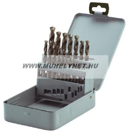 Csiga fúrószár készlet kobaltos ( cobaltos ) 1-13 mm 25 db