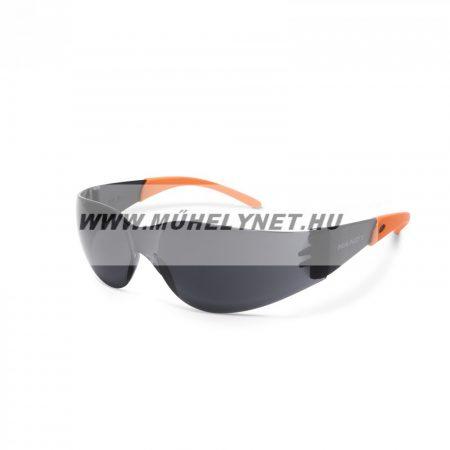 Védő szemüveg UV védelemmel, sötét szürke