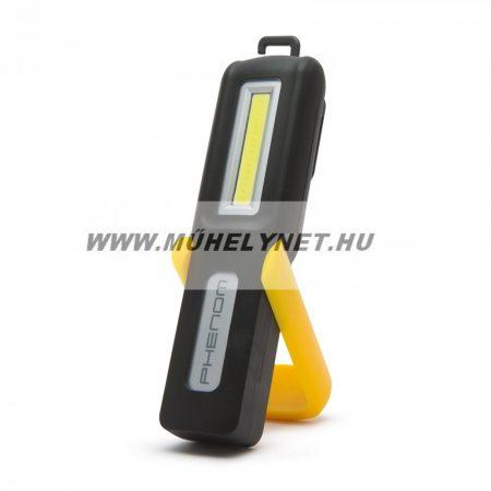 Ledes lámpa akkumulátoros  COB LED-del
