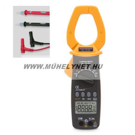 digitális multiméter lakatfogóval  maxwell  4 digites AC/DC