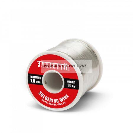 forrasztó ón 1 mm 0,5 kg Rosin Flux