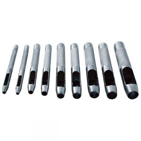 Bőrlyukasztó készlet 2,5-10 mm-ig 9 db