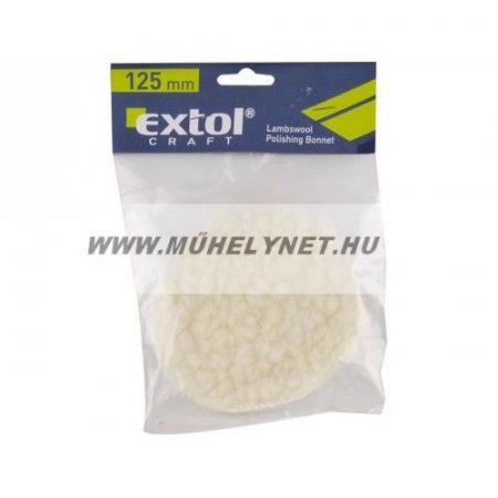 Polírkorong fehér borjúbőr Extol Prémium 125 mm