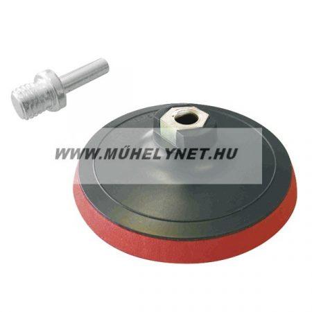 Gumitányér tépőzáras 115 mm