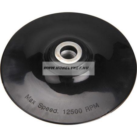 Gumitányér sarokcsiszolóhoz 125 mm