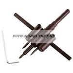 körkivágó klt.gipszkartonhoz  2db, 30-120mm