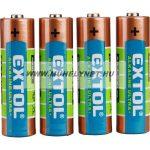 Extol alkaline ultra+,AA elem 4 db.