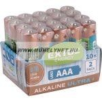 Extol alkaline ultra+,AAA elem 2 db.