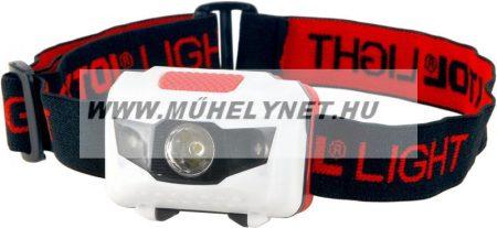 Fejlámpa ledes, 1 W fehér +2 piros LED Extol Light