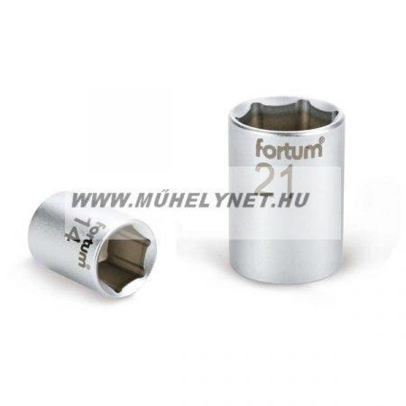 """dugókulcs fej12 mm 1/4"""" ipari minőség FORTUM"""