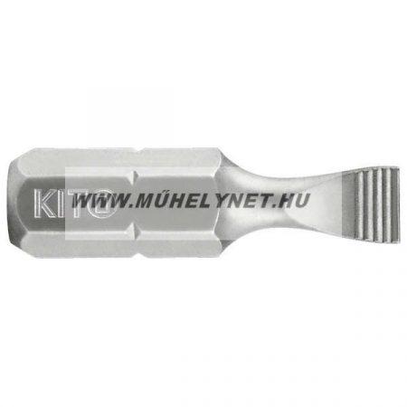 KITO lapos csavarhúzó bit ipari minőség S5.5