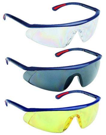 Védő szemüveg füst színű UV szűrős