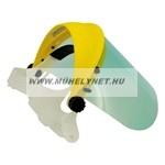 Plexis arc védő pajzs