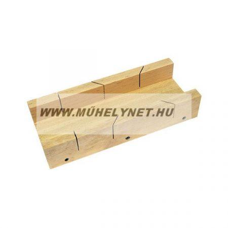 Gérláda kemény fa 450x110 mm