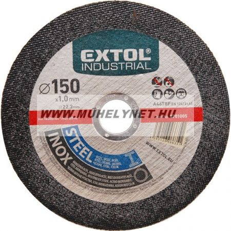 Vágókorong 230 mm Extol Industrial