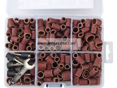 Gravírozó csiszoló  készlet mini köszörűhöz 350 db-os