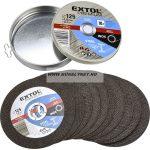 extol prémium vágótárcsa 125x1 mm FE-INOX 10db/csg