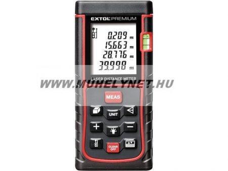 Lézeres távolságmérő 0,05m-80m-ig sok funkcióval