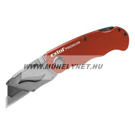 Tapéta vágó kés / snitzer 5 db pengével, összecsukható kivitel