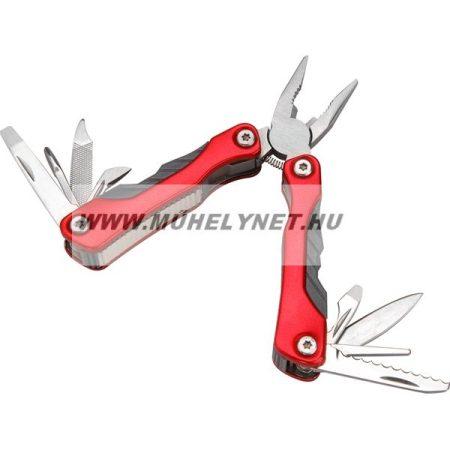 Extol Prémium multi szerszám fogóval, késekkel öszehajtható rozsdamentes kivitel