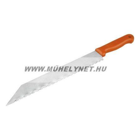 Üveggyapot vágó kés speciális pengével