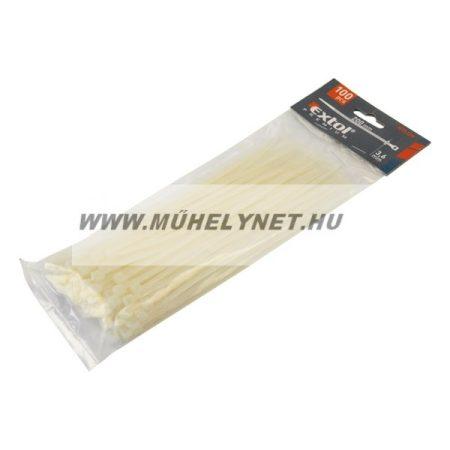 Kábel kötegelő 3,6 x 140 fehér