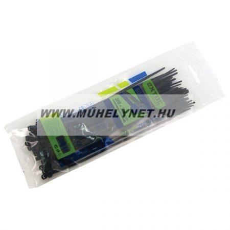 Kábel kötegelő 7,6 x 540 mm fekete