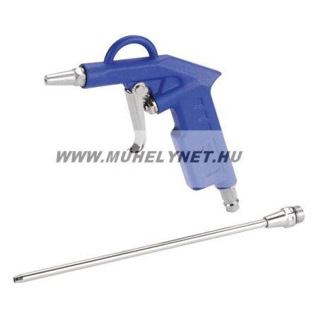 Lefújó pisztoly levegőhöz két fúvókával full fém felépítés Extol Premium