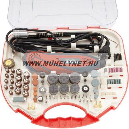 Extol Premium mini fúró, gravirozó gép készlettel.