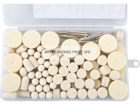 Gravírozó polírozó  készlet mini köszörűhöz 120 db-os