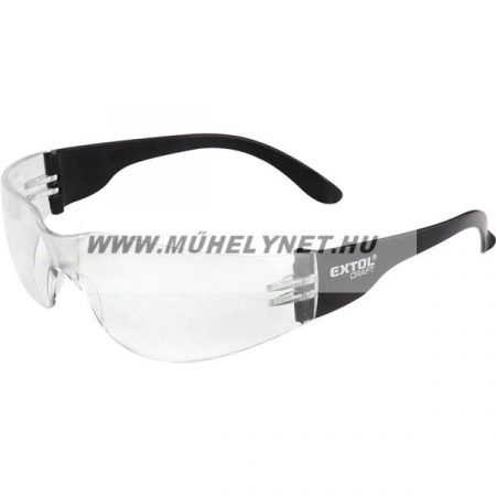 Védő szemüveg víztiszta, polikarbonát Extol Craft