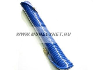 Spiráltömlő spirálcső levegőhöz 10 m, 6/8mm