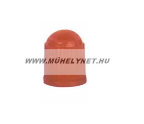 Szelepsapka műanyag piros