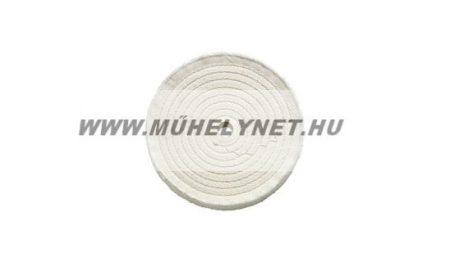 Polírkorong varrott vászon 200 mm-es