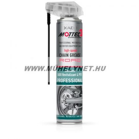 xado Mottec lánc spray országúti motorozáshoz 200 ml.