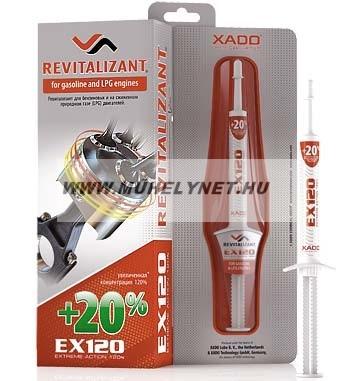 xado ex120 benzin és LPG motorokhoz 8 ml